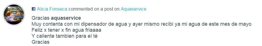 Opiniones Aquaservice Alicia