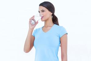 Agua bebida diariamente