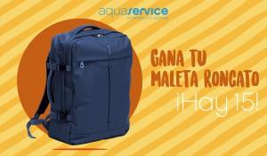 Aquaservice regala 15 mochilas Roncato
