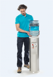 Dispensador de agua y repartidor Aquaservice