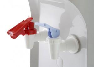 Grifo rojo para infusiones Aquaservice