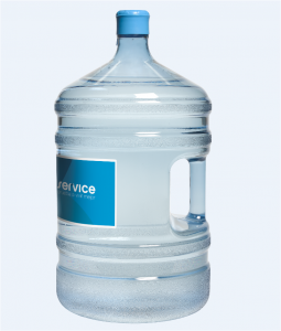Botella Aquaservice para dispensador de agua