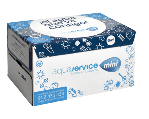 Agua mineral Aquaservice mini