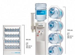 Maquinas de agua Aquaservice botellas