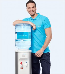 bidon de agua y dispensador aquaservice
