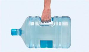 Garrafas de agua reciclables