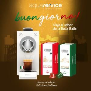 espresso y ristretto edizione italiana aquaservice cafe