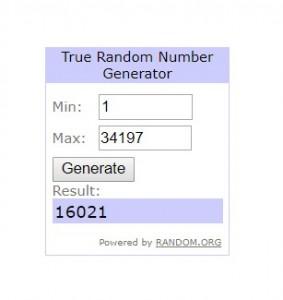 16021 - Random