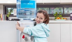 Agua embotellada en tu casa