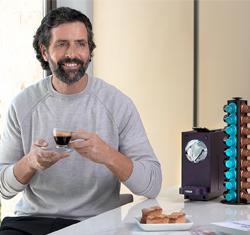 cafe a domicilio aquaservice cafetera y capsulas