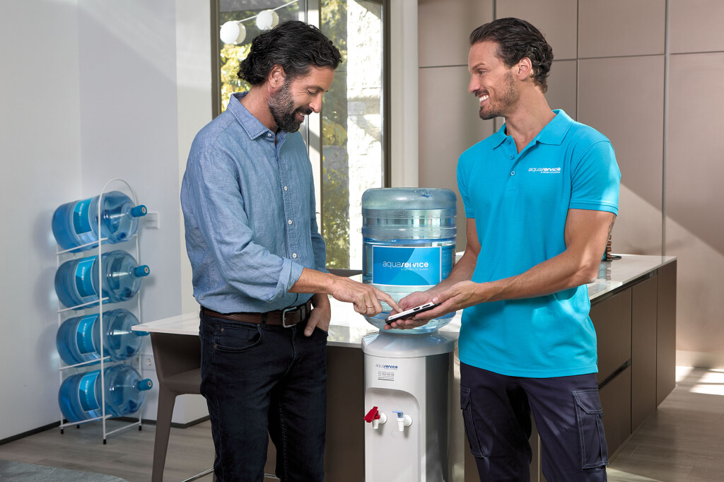 Dispensadores de agua fría Aquaservice